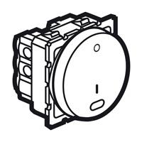 Arteor Double Pole Switch 20Amp (Indicator) - White  | LV0501.0022