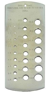 Ozar Drill Gauge 1-13 x 0.5mm