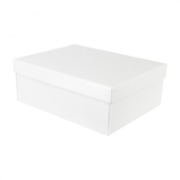 BOX & LID 300 X 300 X 300mm WHITE BUBBLE