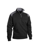 Blaklader 3353-1158 1/2 Zip Two Tone Fleece Top
