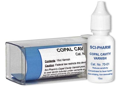 SCI-PHARM - COPAL VARNISH