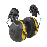 3M PELTOR X2 Ear Defenders - Helmet Mounted, 30 dB