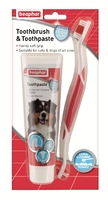 Beaphar Dog Dental Kit (Toothbrush & Toothpaste) x 1