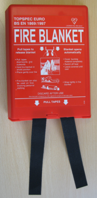 Top Spec Euro Fire Blanket