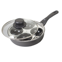 Aluminium Egg Poacher 4 hole