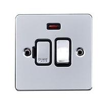 Flat Plate PC 13A Switch FSD CON+N Black | LV0701.0207