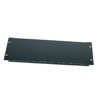 Euromet 03226 | Front rack cover panel, 4U, Black