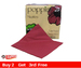 Dinner Serviettes 2ply Burgundy 40cm pk125