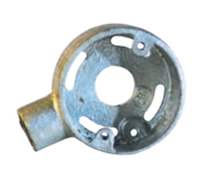 20MM GALVANIZED END EXTENSION BOX