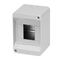 Gewiss 4 MOD Surface IP40 Enclosure No Door