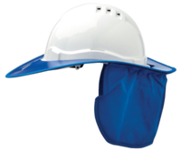 Pro V6 Hard Hat Brim & Neck Flap Plastic