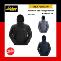 Snickers 2881 Logo Hoodie (Snickers Special Discount offer)