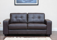 Ruben Brown Bonded Leather Sofabed 1