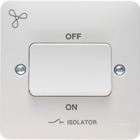 3 Pole Isolator Switch+Fan Symbol | LV0301.0756