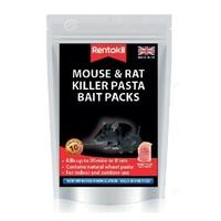 Rentokil Mouse & Rat Killer Pasta Bait Packs - 10x10g Sachet