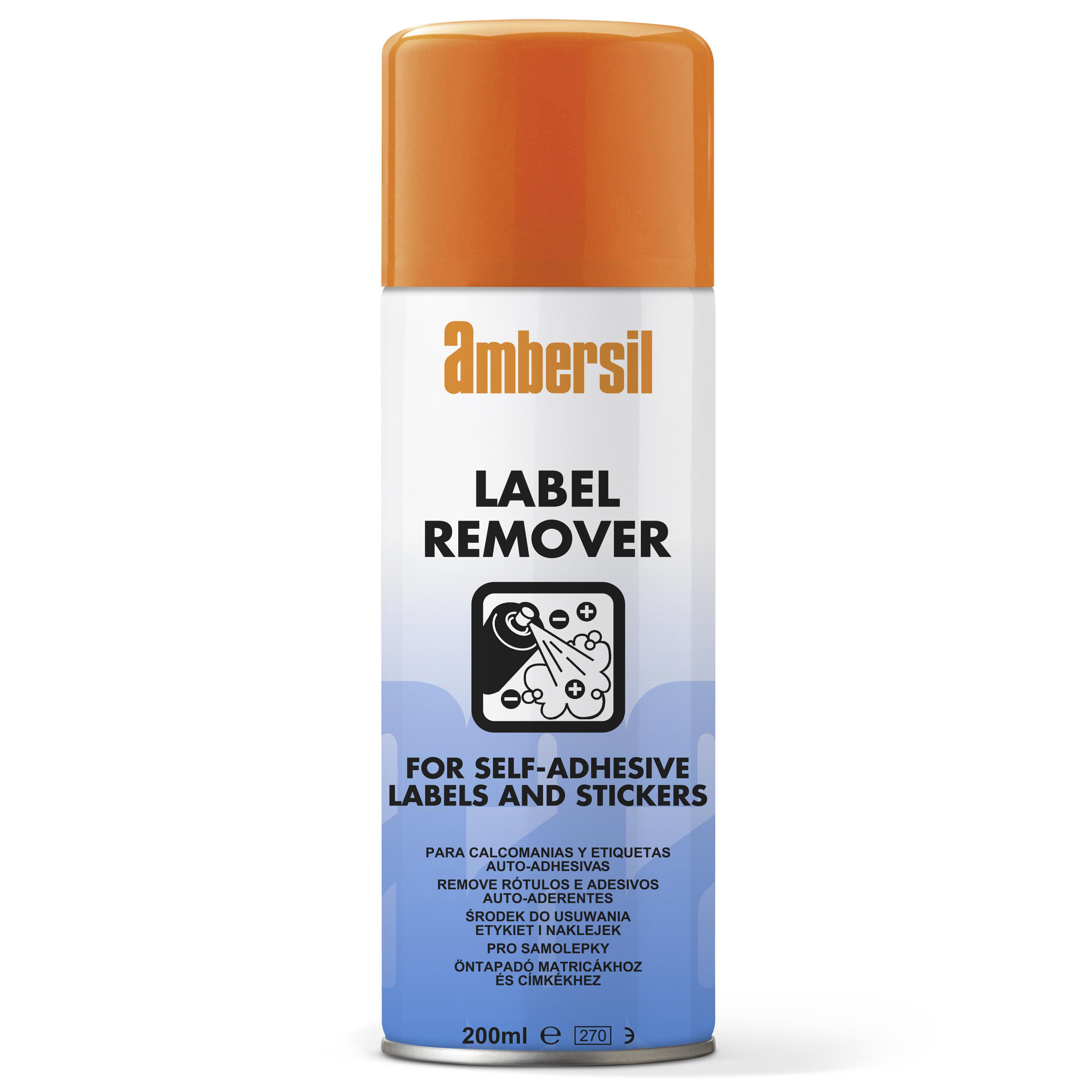 Ambersil 200 ml Aerosol Label Remover
