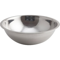 Mixing Bowl Curved Side Flat Bottom 2.8 Litre 25 x 8cm