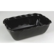 Tulip Deli Crock Black 5lb 263x171x80mm