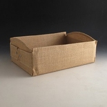 Jute tray 350 X 250 X 110mm . (Sold Individually)