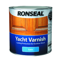 Ronseal Yacht Varnish 2.5L Satin
