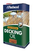 Fleetwood Decking Oil 5Ltr Cedar