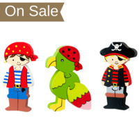 Mini Puzzle Set - Pirate