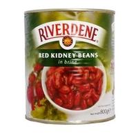 Tin Red Kidney Beans Riverdene (6x800)