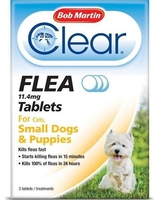 Bob Martin Clear Flea Tablets - Small Dogs & Puppies x 1