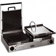 Lincat LPG2 Twin Panini Grill Ribbed Plates 2x2.25kw