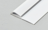 White PVC J-Trim