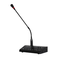 Clever Acoustics PM 100 Paging Microphone (5 Zone)
