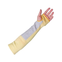 "Supertouch Kevlar Chrome Sleeve - 14"", Chrome/Yellow"