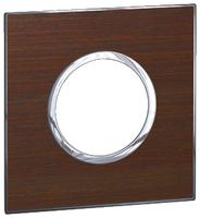 Arteor (British Standard) Plate 2 Module 1 Gang Round Wenge| LV0501.0917