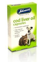 Johnson's Cod Liver Oil Capsules 170 cap x 3