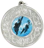 50mm Celtic Medal (Silver)