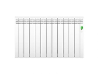 D Series White 11 elements Electric Radiator