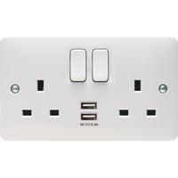 Sollysta 13A 2G USB Socket