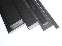 Black Mild Steel Flat Bar 1000mm x 3mm
