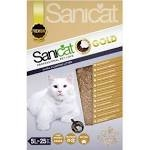 Sanicat Clumping Gold Cat Litter 5 Litre x 3