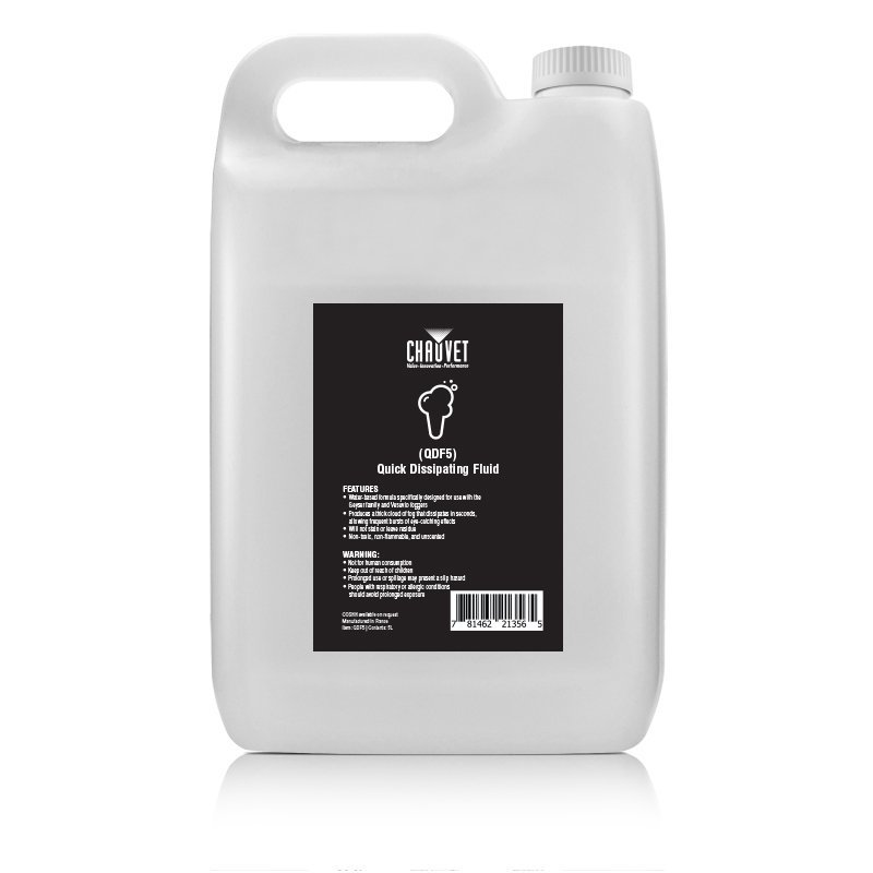 Chauvet Professional GJ5 / QDF5 Smoke Fluid for Geyser Smoke Machine 5 Litres