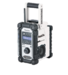 Makita DMR109W 220v & 7.2-18v Li-ion Jobsite Radio White **Battery not included**