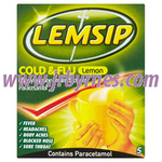 Lemsip Cold & Flu Hot Lemon 5's x12