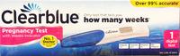 Clearblue Digital Single Pregnancy Test