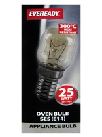 EVEREADY 25W SES OVEN LAMP 300°C