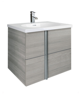 Sonas Avila Sandy Grey 60cm Wall Hung Vanity Unit