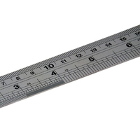 Stainless Steel Ruler - 30cm (pack 5)