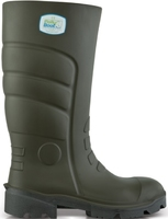 GREEN POLLY PU NON SAFETY WELLINGTONS