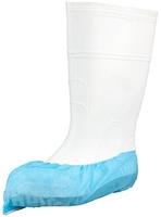 34094 Polypropylene Concise-Fit Overshoes Antiskid Blue 1000/Ctn