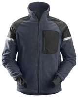 Snickers Navy/Black Windproof Fleece Jacket
