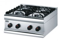 Lincat HT6/N Boiling Top 4 Burner Natural Gas 305x600x600mm